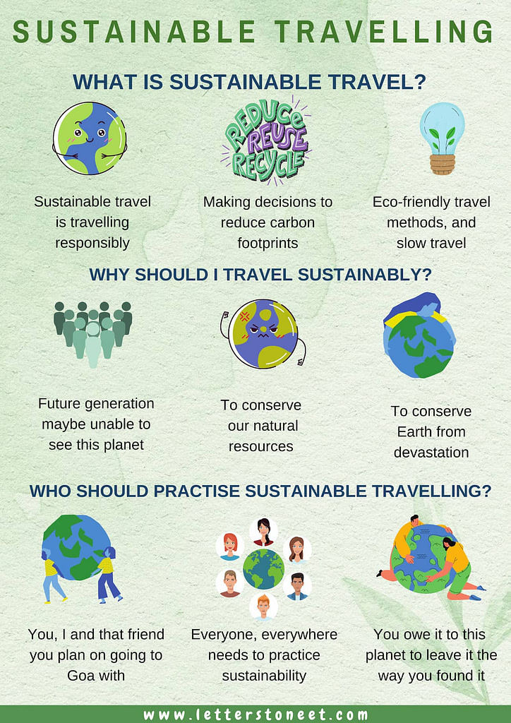 Sustainability, responsible and environmentally friendly travelling