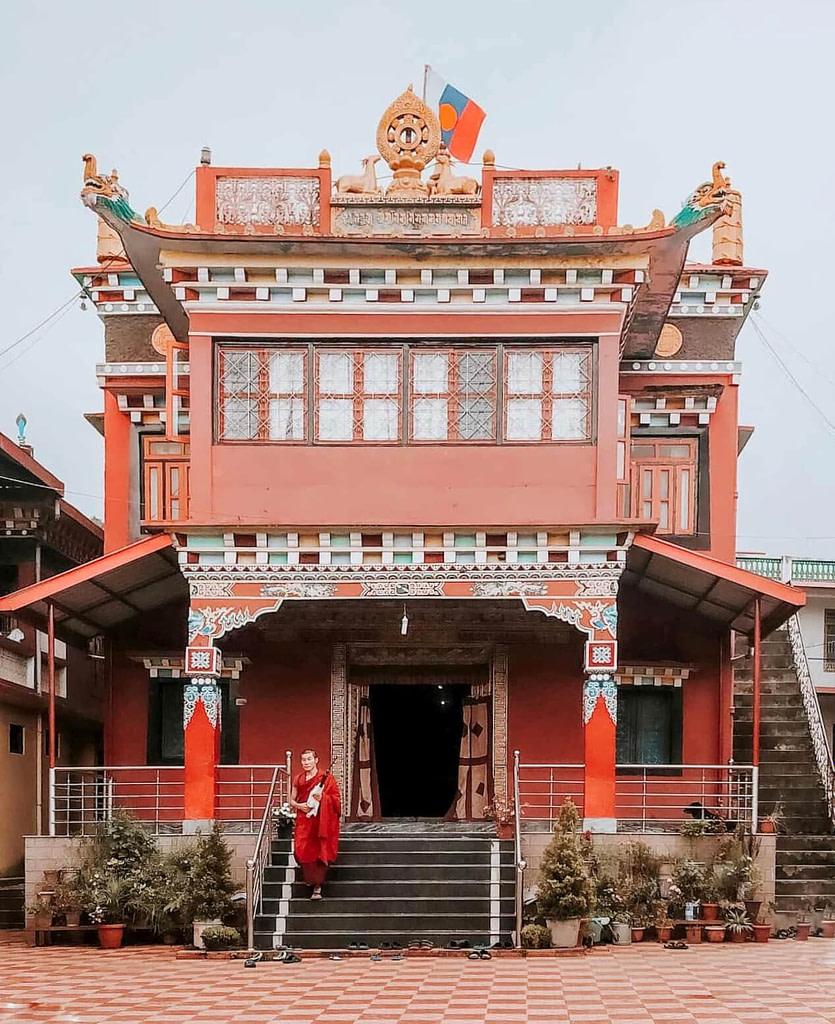 Tibetan Monastery in Bir Billing